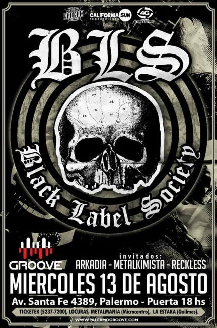 Vuelve Black Label Society