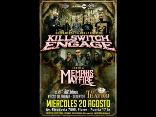 Killswitch Engage+ Memphis May Fire