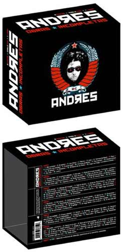 ANDRES CALAMARO - ANDRES, OBRAS INCOMPLETAS